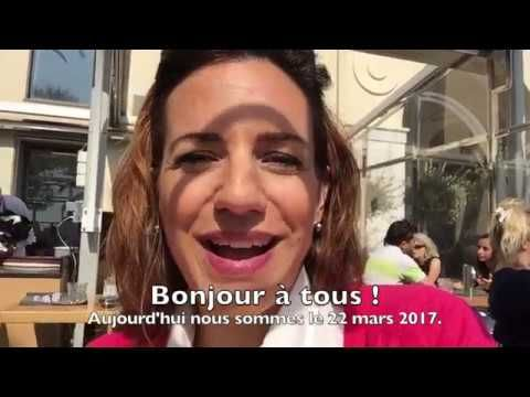great video with French subtitles au restaurant a Nice