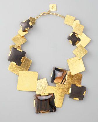 Herve Van Der Straeten              Gold Multi-Stone Square | Luxury Interiors, luxury furniture, designer furniture, high end furniture, home design,  For more inspirations: http://www.bocadolobo.com/en/inspiration-and-ideas/