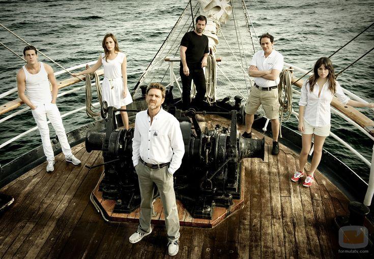 """Serie Española, """"El barco"""". Excelente serie de entretenimiento.  Aunque el final no me gustó :("""