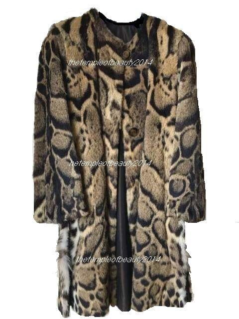 fur LEOPARD CLOUDED Neofelis Nebulosa.pr CITES 45.Enzo D Amato luxury artist fur