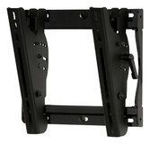 "Peerless - SmartMount Tilting TV Wall Mount for Most 13"" - 37"" Flat-Panel Displays - Black"