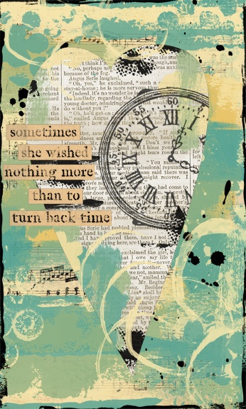 great use of a quote a prompt (time by strawberryredhead, via flickr)