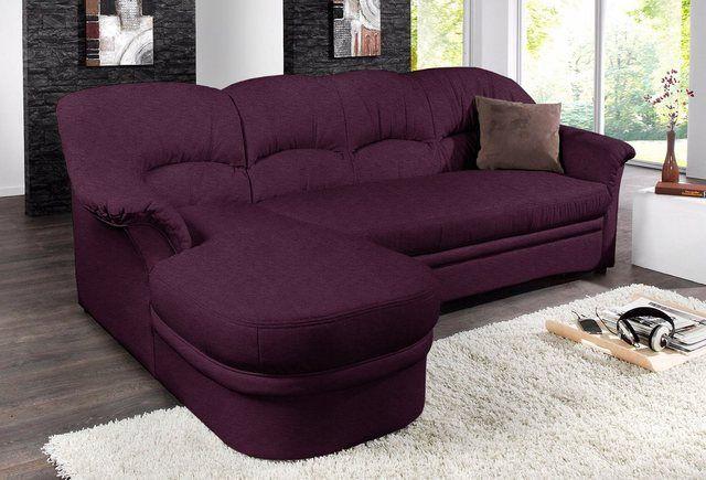 Domo Collection Ecksofa Wahlweise Mit Bettfunktion Online Kaufen Ecksofas Couch Mit Schlaffunktion Und Couch