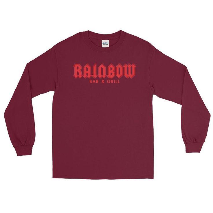 Rainbow Bar & Grill Men's & Women's Long Sleeve T-Shirt