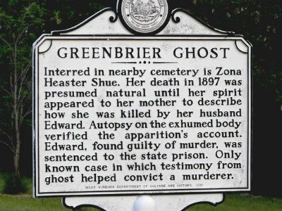 Greenbrier Ghost