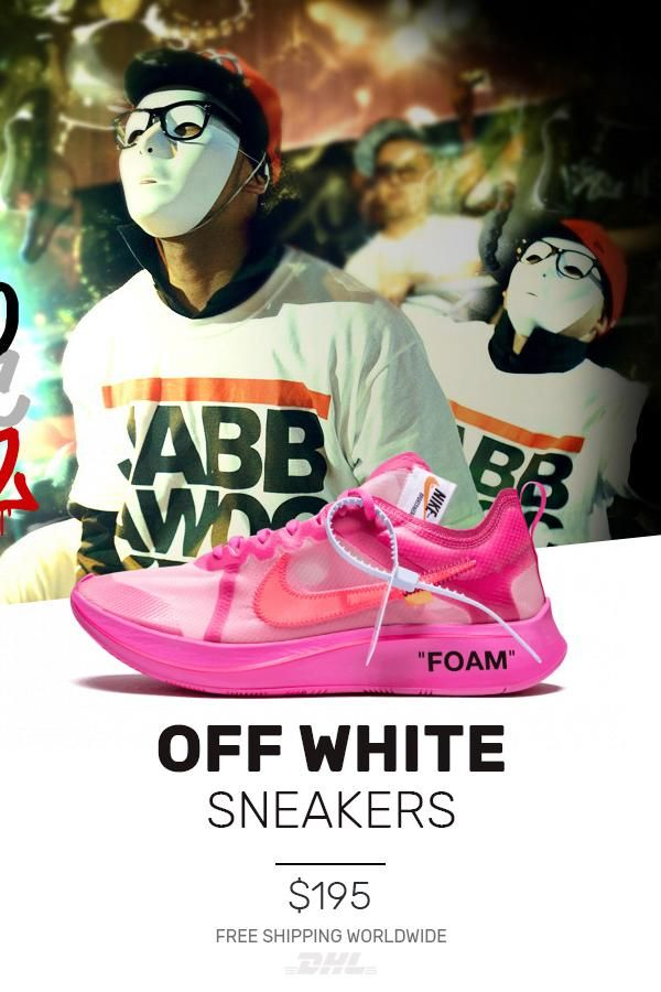 37bf93a051c7 Mens size Nike Off-White The 10   OW Zoom Fly Tulip Pink shoes in ...