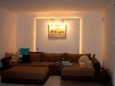 LED Stripe Als Indirekte Beleuchtung Wohnzimmer Wand