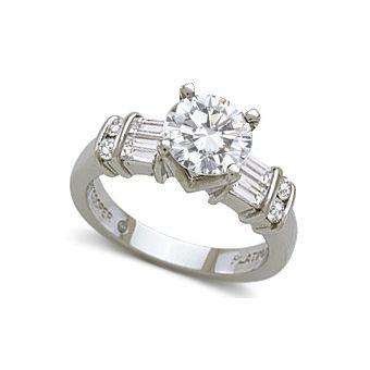 jeff cooper ladies platinum diamond engagement ring princess cut please