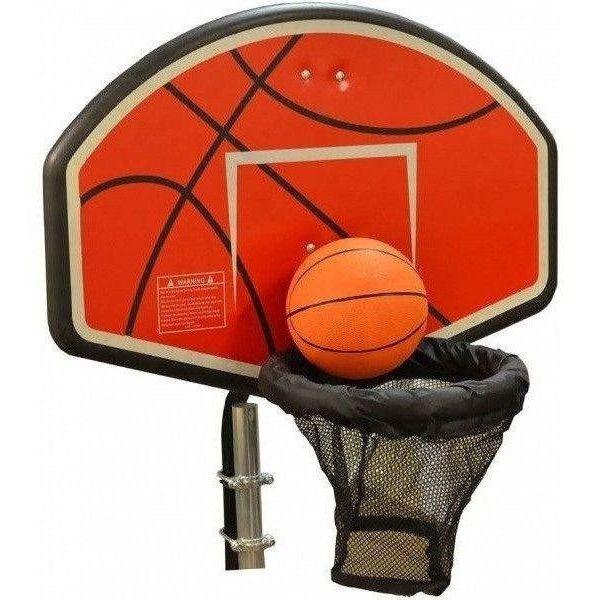 Trampoline Basketball Hoop Attachment