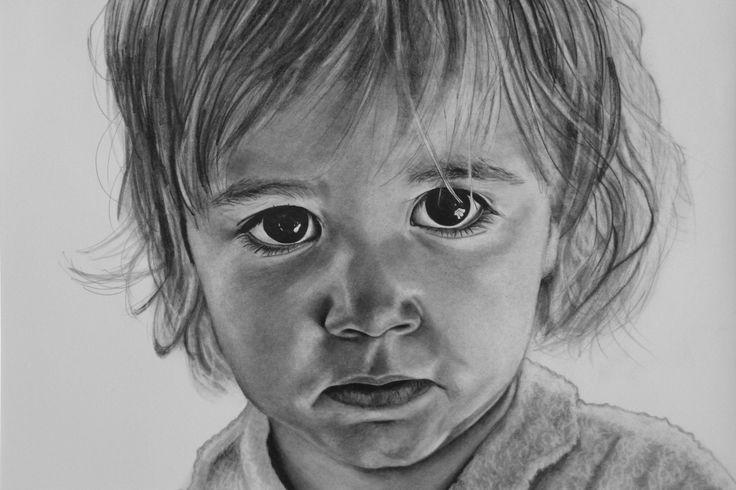 Portraits by Justine Brentnall  'Billie'