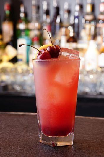 Summer cocktail recipe: tart cherry burst, with tequila