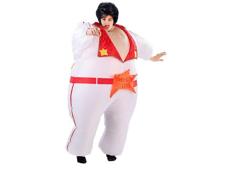 Aufblasbares Kostüm Elvis