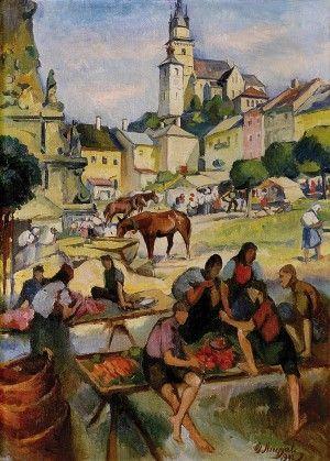 Gejza Angyal (1888-1956) Trh v Kremnici