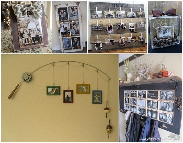 10 Unique and Cool Picture Frame Ideas a