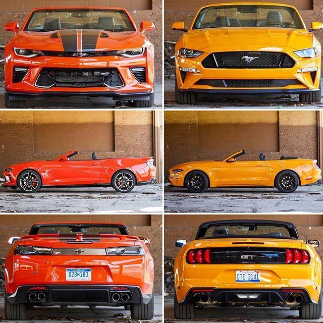 Camaro Vs Mustang >> Pin On Automobiles