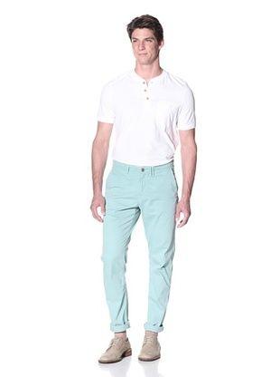 Edun Men's Garment-Dye Flat Pocket Pant