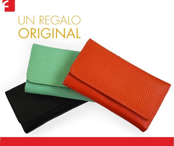 Nuevas Billeteras de Colores By Fiorenzy