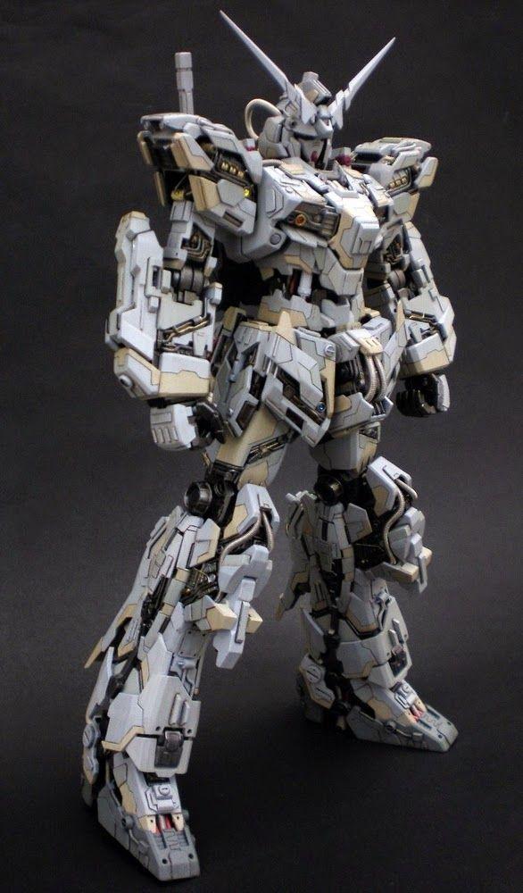 "Custom Build: MG 1/100 Unicorn Gundam ""Super Detailed"" - Gundam Kits Collection News and Reviews"