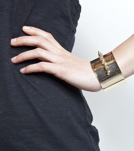 Nailed Cuff Bangle Bracelet | Fashion Bracelet | HOTTT.COM