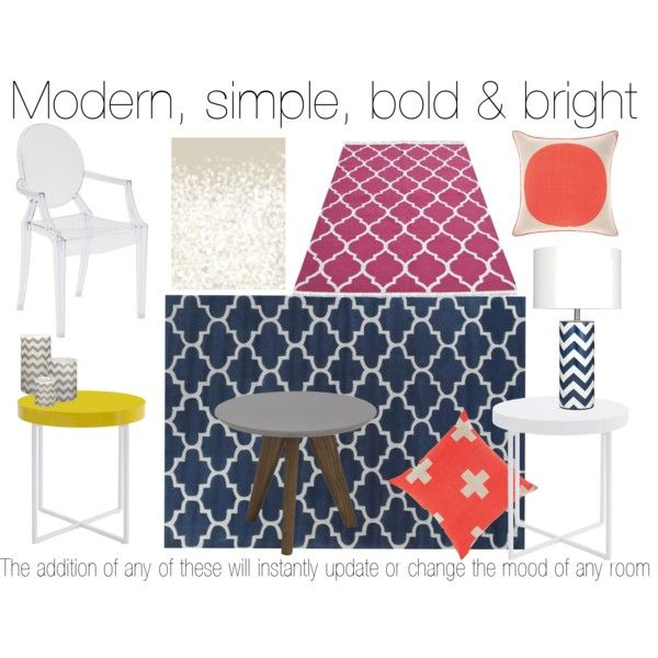 """""""Modern, Simple, Bright"""" by stylecounsel & Changing rooms on Polyvore"""