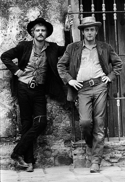 The Sundance Kid (Robert Redford) & Butch Cassidy (Paul Newman) - Dos hombres y un destino (1969)