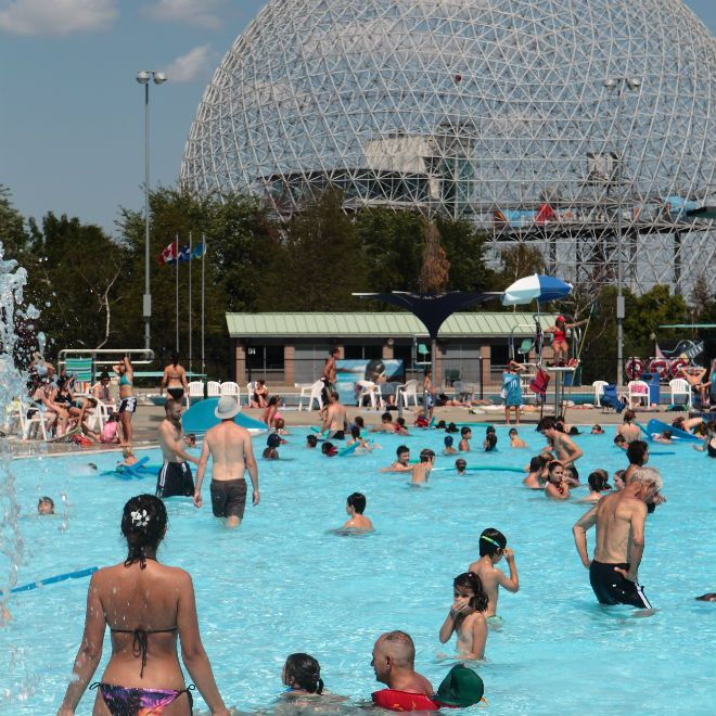 best pools in montreal