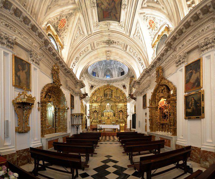 Convento De La Encarnación En Osuna Interior De La Iglesia Edificios Iglesia Sevilla