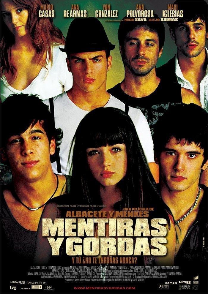 Mentiras y gordas (2009) España. Alfonso Albacete y David Menkes. Adolescencia. Drogas - DVD CINE 1271