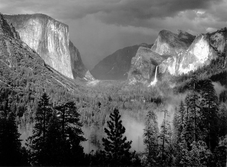 Yosemite Valley, Thunderstorm, 1949 Ansel Adams