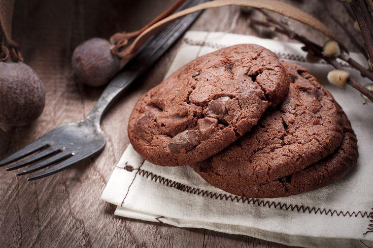 Recette facile de biscuits triple chocolat!