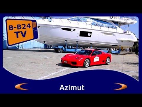 Luxury Azimut Yachts & Ferrari by BEST-Boats24