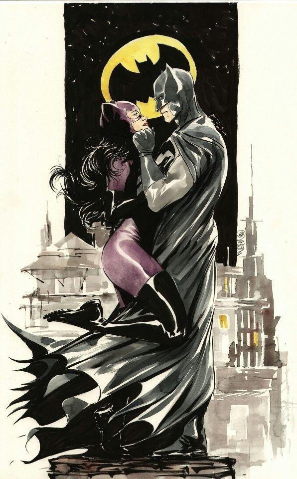 Mulher Gato e  Batman