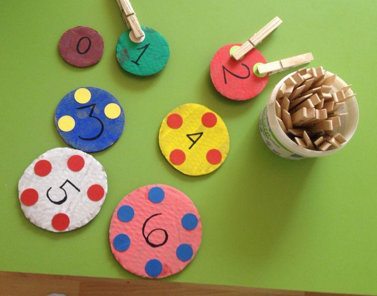 Μαθαίνοντας τους αριθμούς ... Easy way to learn numbers