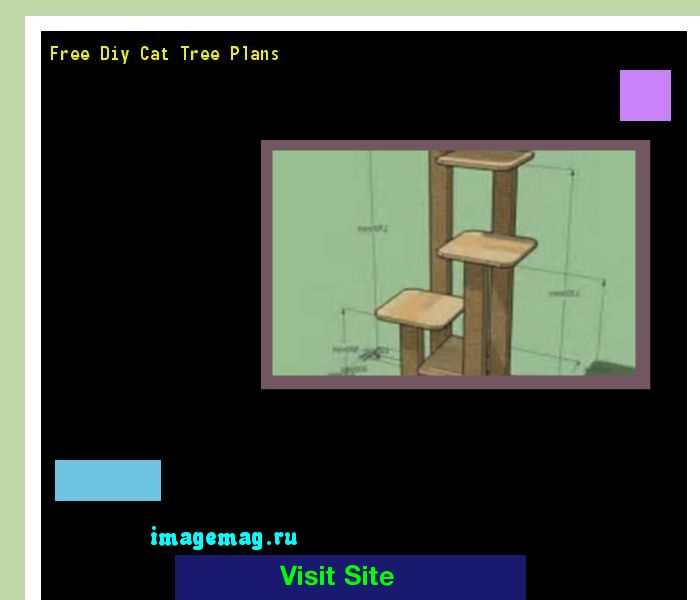 Free Diy Cat Tree Plans 141215 - The Best Image Search