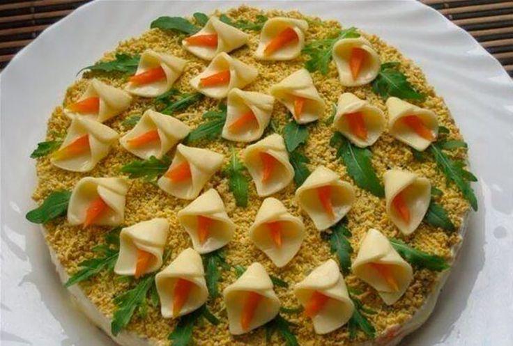 рецепты приготовления салатов на юбилей фото забор плотно