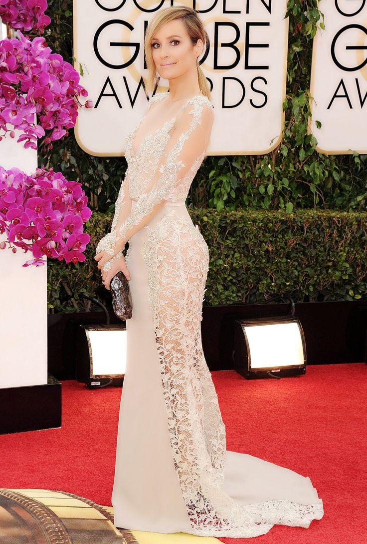 Giuliana rancic 2014 oscars paolo sebastian dress - New Discovery Paolo Sebastian At The Golden Globes