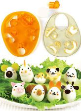 New 2 PCS Japan Quail Egg Emoticon Dressing Up Cutter Sushi Rice Ball Bento Mold