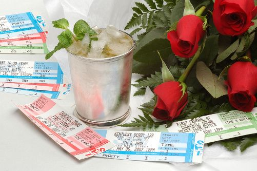 Authentic concert and sporting event tickets as invitations and annoucements! So great for a super bowl party!!!