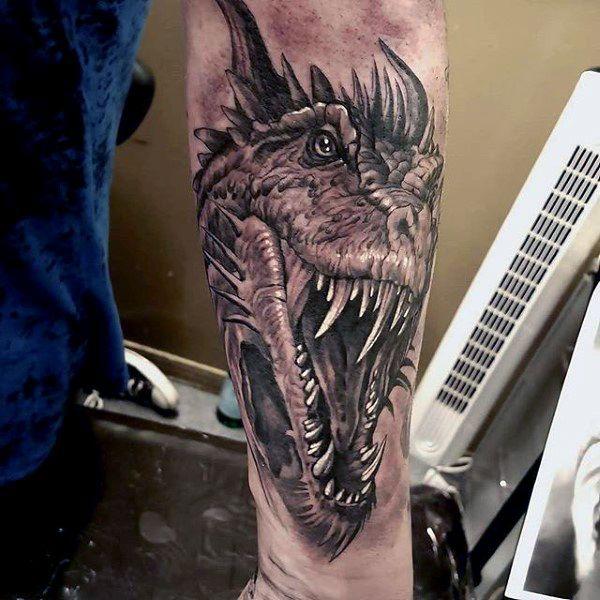 Cool Men's Dragon Tattoos