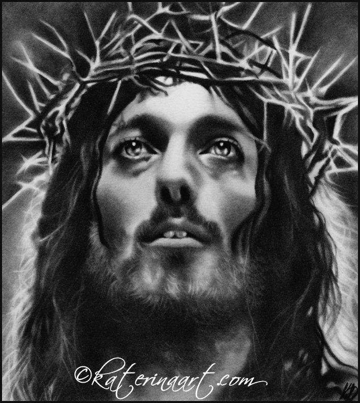 Black Jesus Wall Art: Jesus Of Nazareth, Katerina Art ,Fantasy And Portraiture