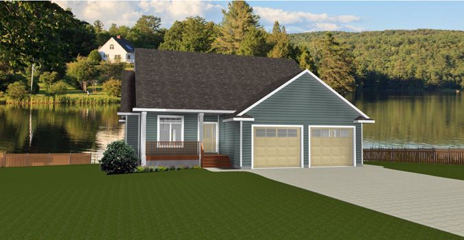 Best House Plan 2010501 Bungalow Design With 2 Car Garage By 640 x 480