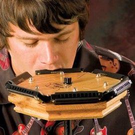Buy A Harp >> Harp Jack Multiple Harmonica Holder - RW Harmonicas | Harmonicas | Pinterest | Instruments
