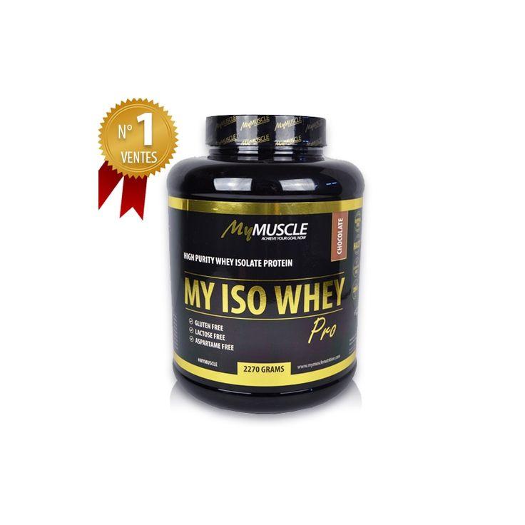 Achat de My Iso Whey Pro MyMuscle, la meilleure whey du marché à la pureté…