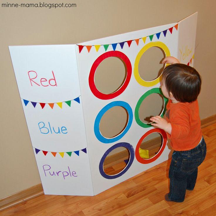 Color Toss Activity With Video Indoor ActivitiesToddler