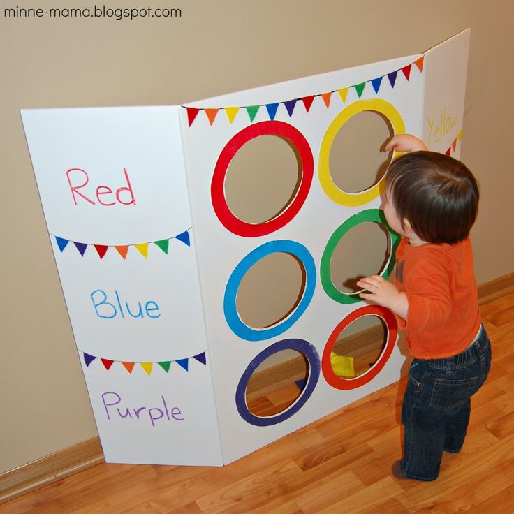 find this pin and more on 2 year old activities - Colour Games For Preschoolers