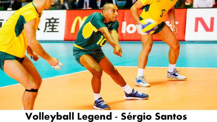 Legendary Volleyball Libero - Sérgio Santos