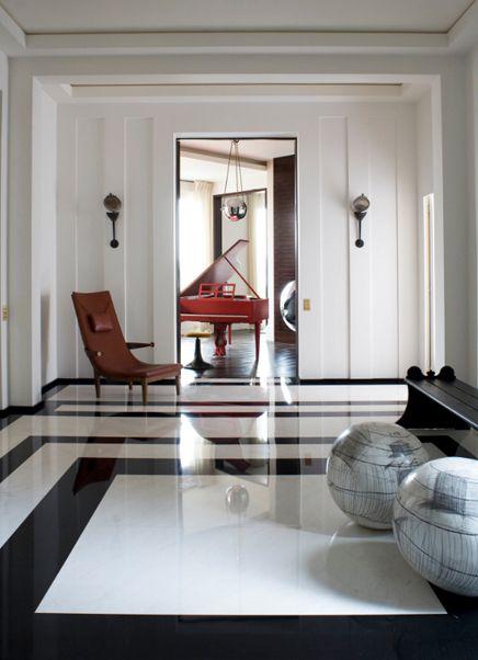 Quai Anatole France Apartment, Paris by Pierre Yovanovitch