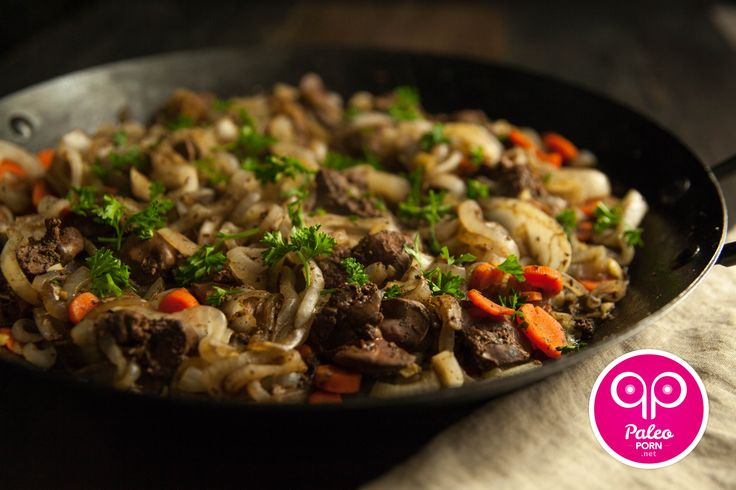 Chicken liver and onions are a power meal you should definitely incorporate into your Paleo meal plan this week.