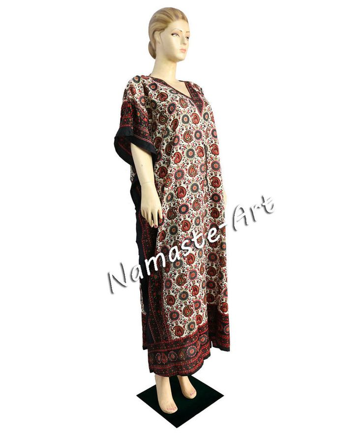 Indian Free Size Party Cover Wear Up Casual Dress Wear Any Season Beach Kaftan  #Unbranded #KaftaanBeachDressMaxi #Casual