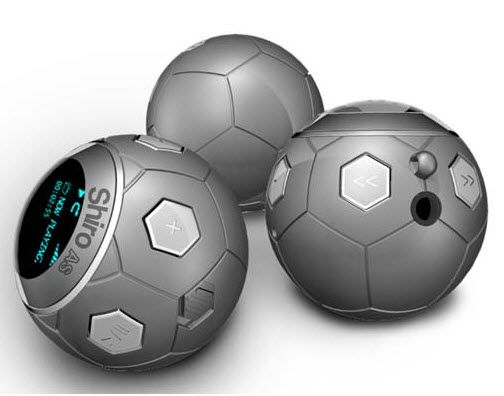 soccer ball mp3 player 8 Cool USB Gadgets For Soccer Fans